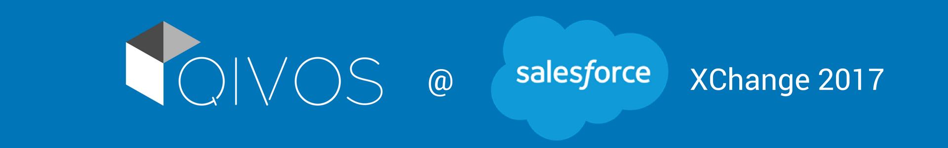 QIVOS sponsors the Salesforce XChange EMEA in Copenhagen!